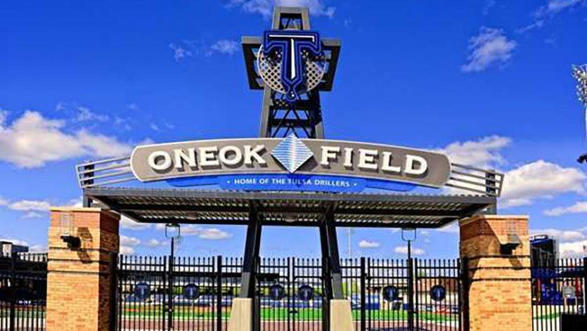 ONEOK Field entrance gate