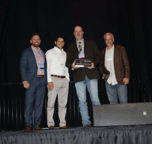 Jeremy Pearce 2018 ASA-OK Project Manager of the Year Award