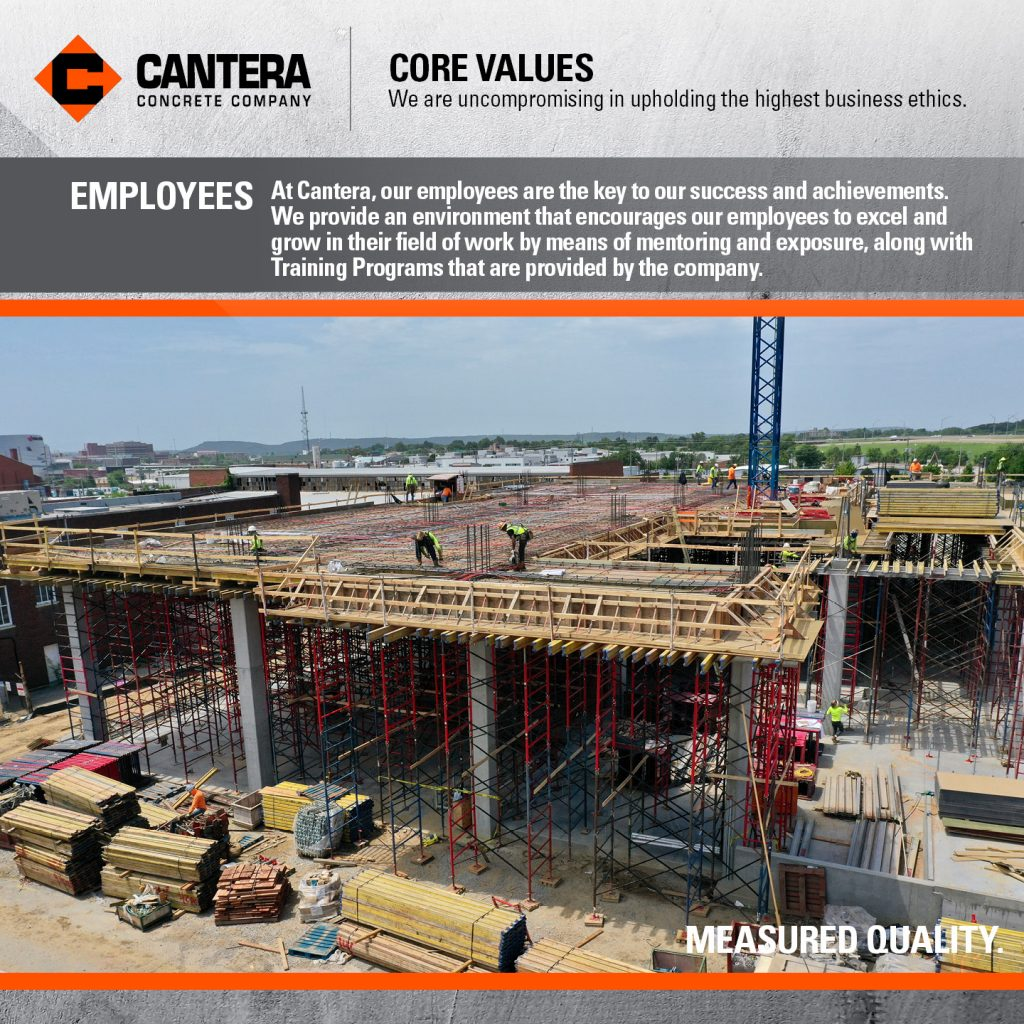 At Cantera, our employees are the key to our success and achievements. We provide an environment that encourages our employees to excel and grow in their field of work by means of mentoring and exposure, along with Training Programs that are provided by the company.
