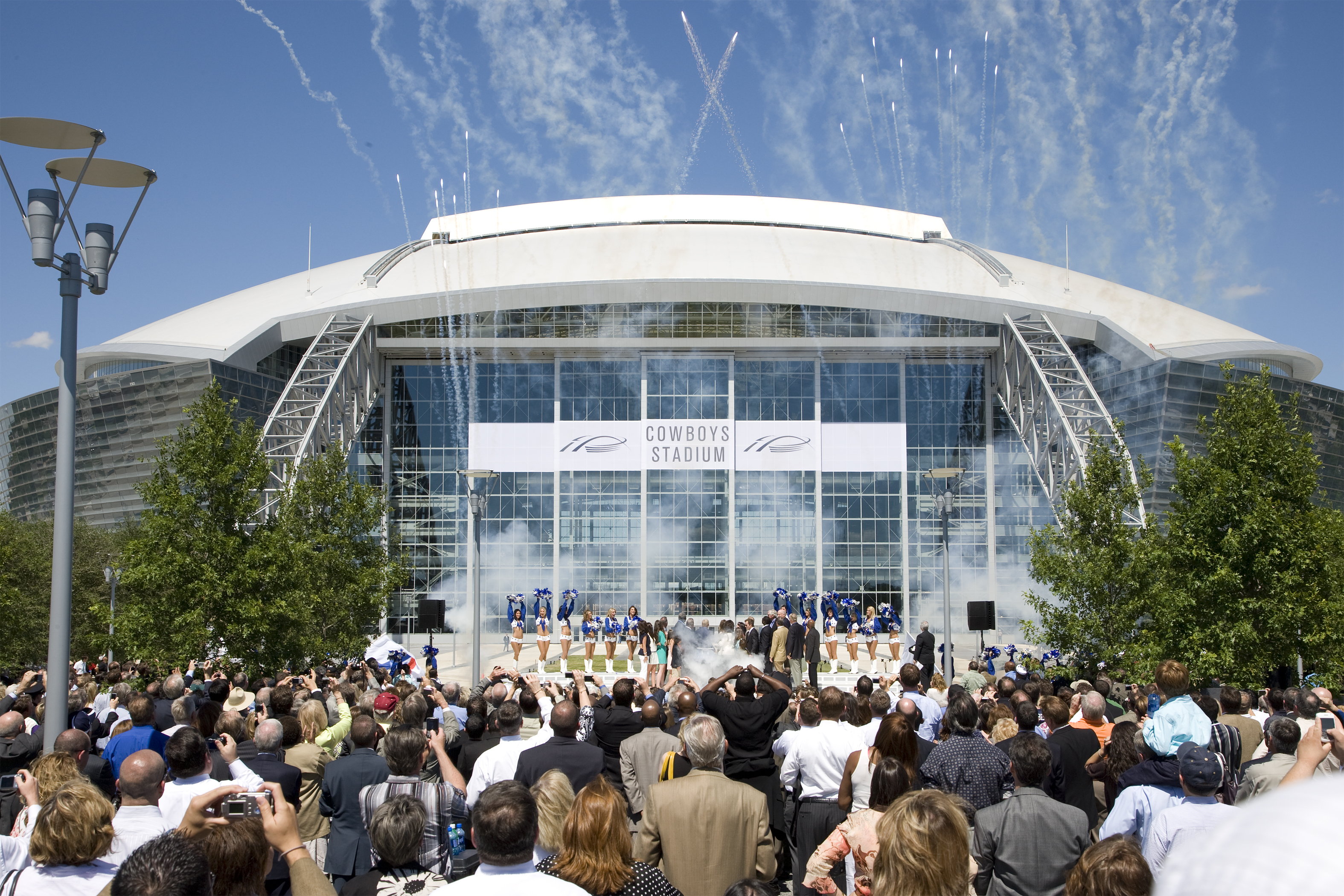 Cowboys Stadium Ribbon Cutting