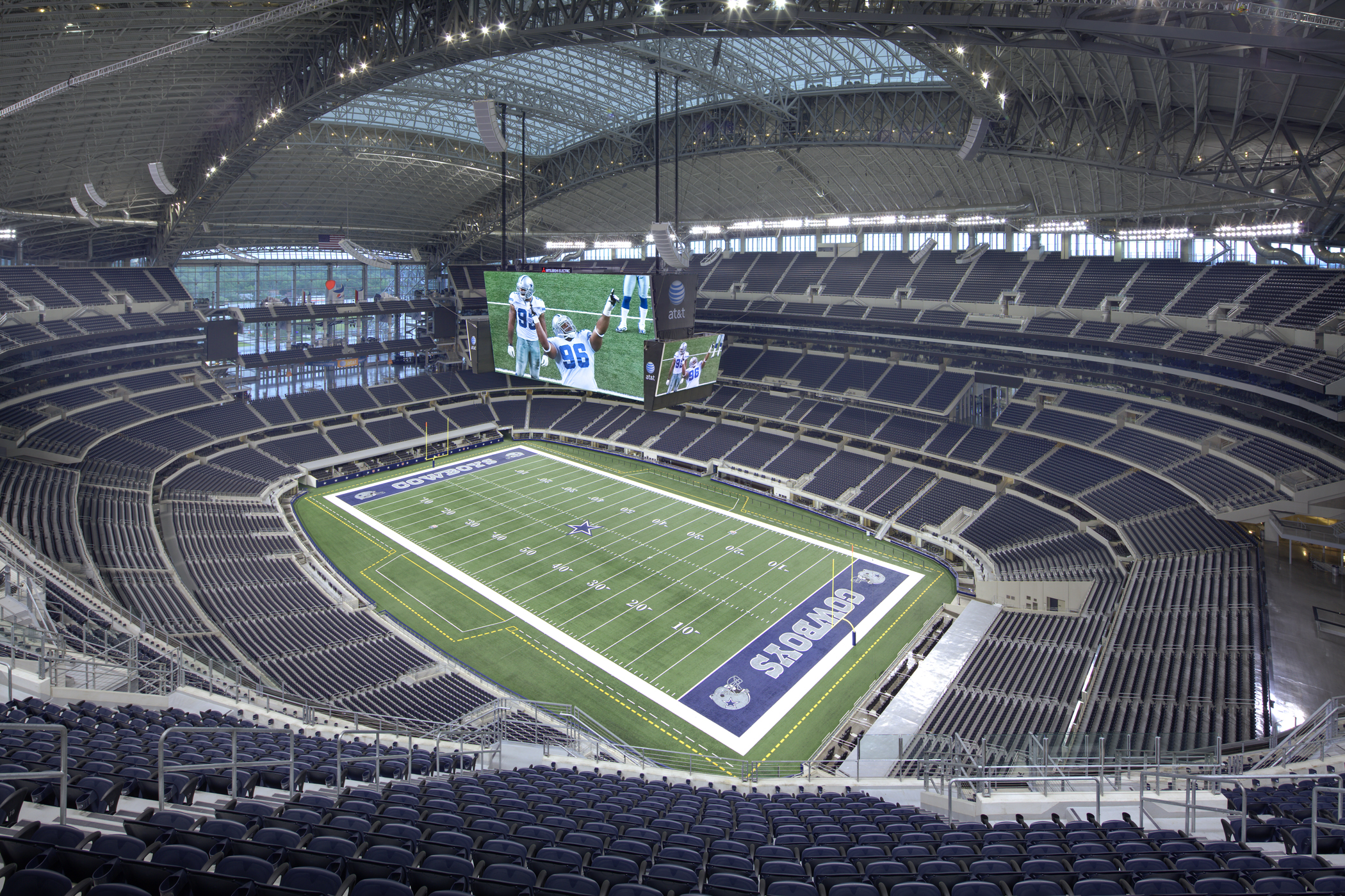 Cowboys Stadium Bowl Photo