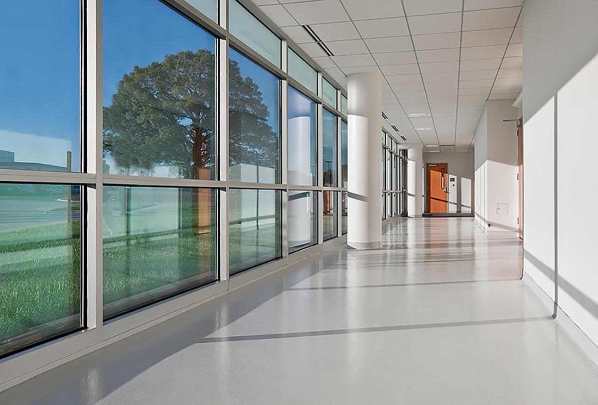 NASA Exploration Science Building Hall