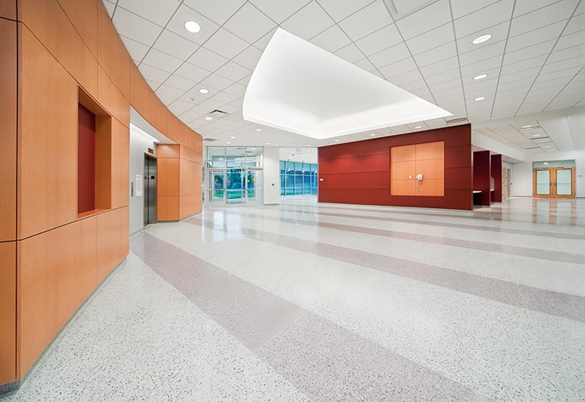 NASA Exploration Science Building Lobby