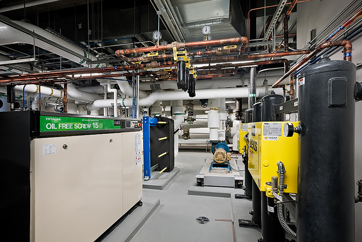 NASA Exploration Science Building MEP Room 2