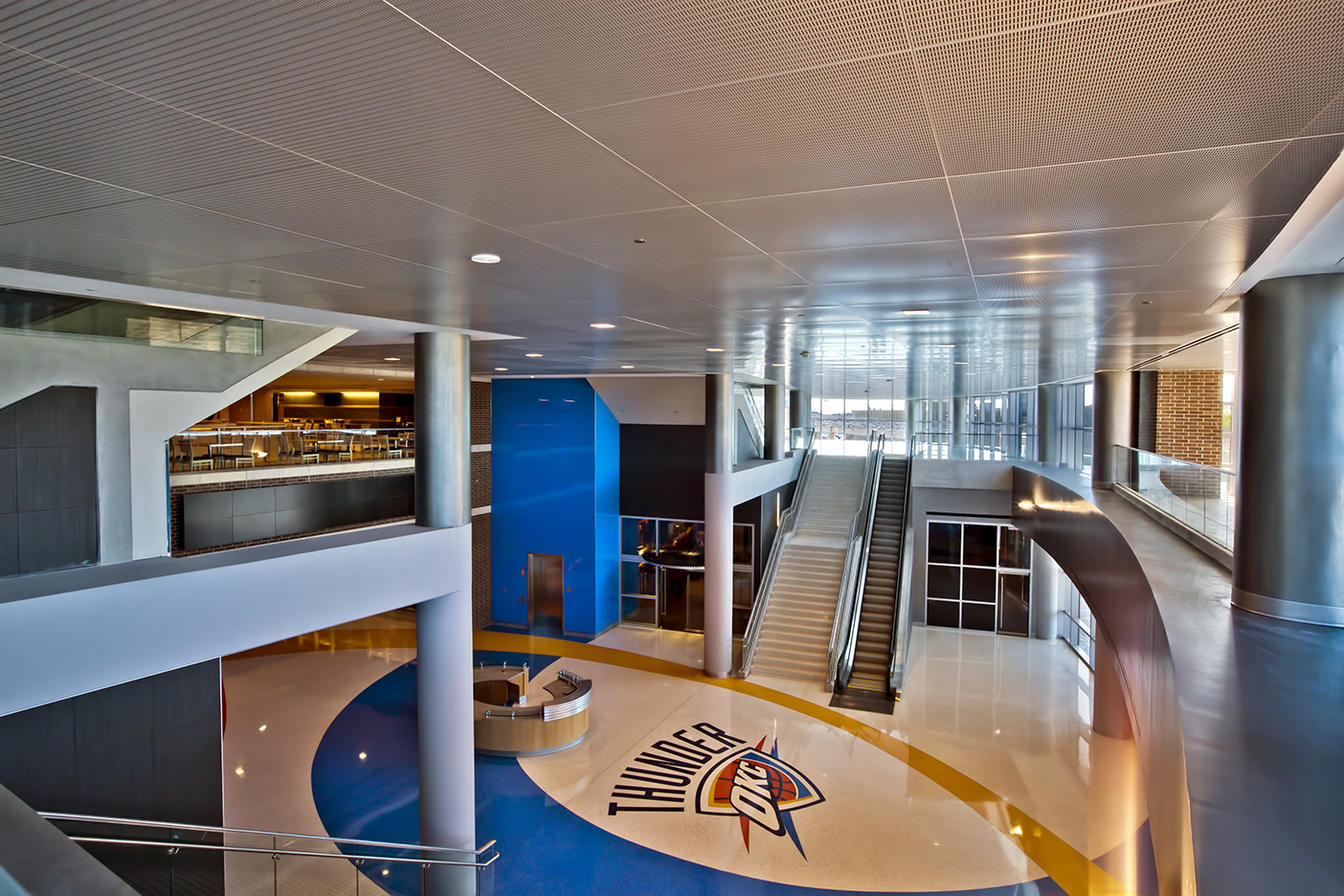 Chesapeake Arena Interior Lobby Entrance View 2