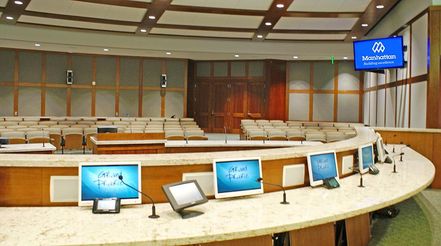 Grand Prairie City Hall Council Room View 2