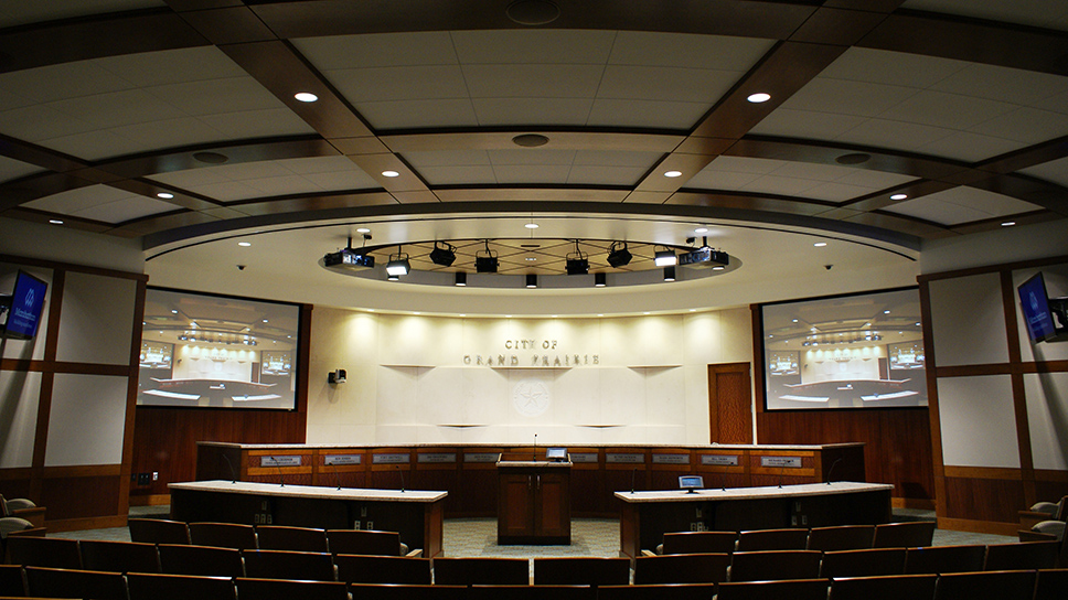 Grand Prairie City Hall Council Room
