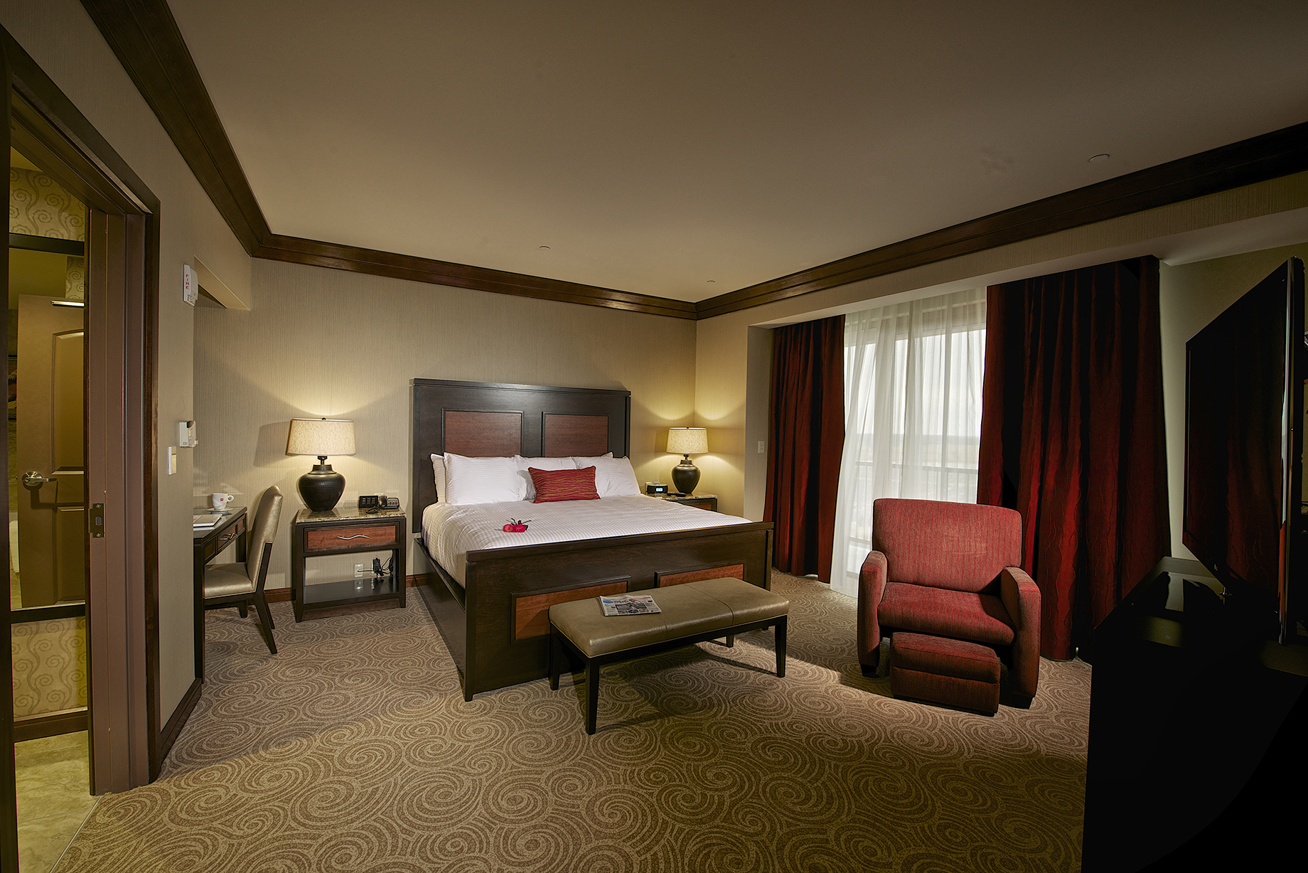 Downstream Casino Expansion Hotel Room