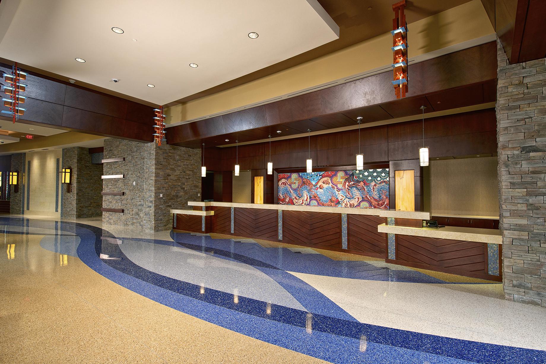 Downstream Casino Expansion Hotel Lobby