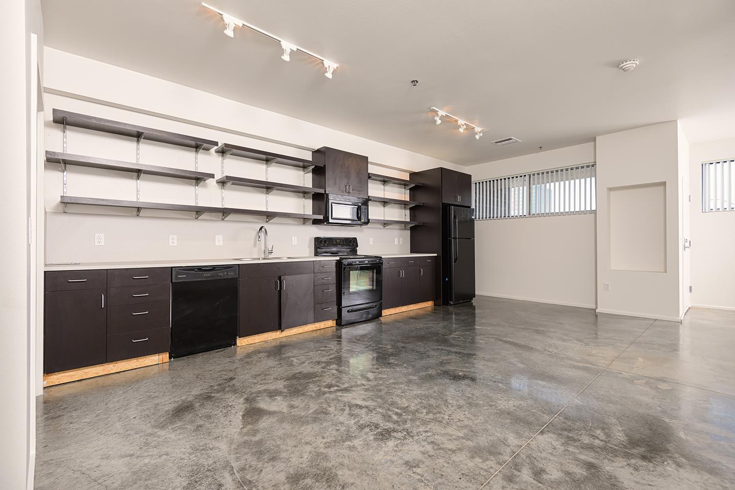 GreenArch Apartments Interior Built Ins