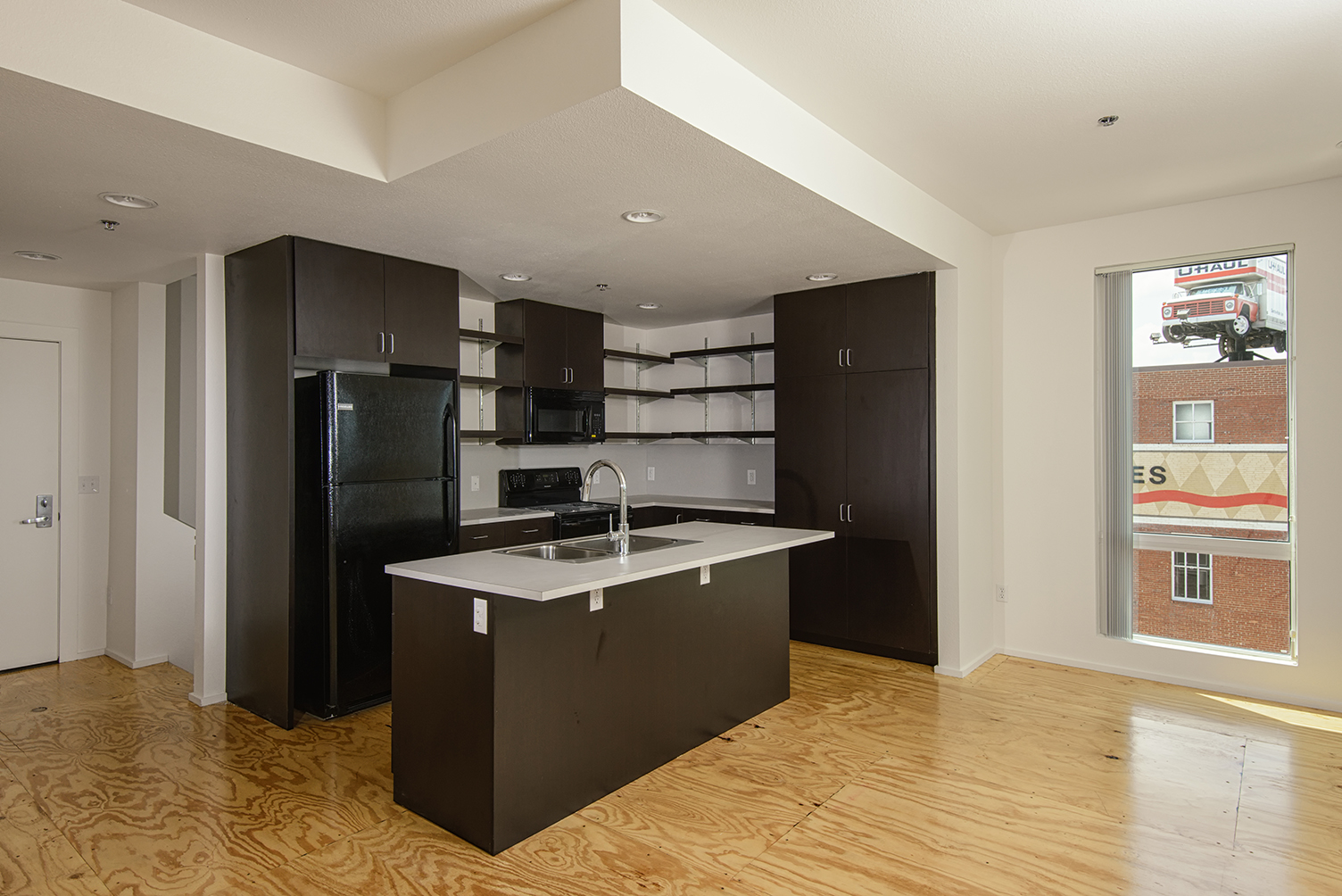 GreenArch Apartment Kitchen