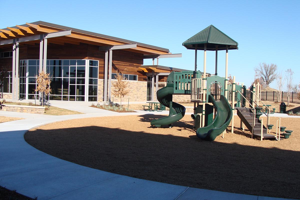 Chickasaw Welcome Center Exterior Photo 2