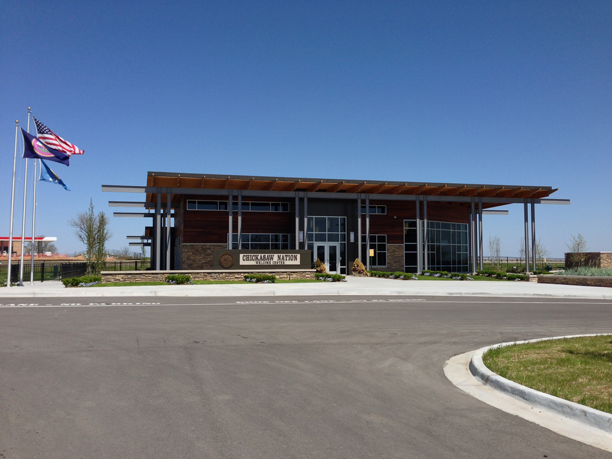 Chickasaw Welcome Center Exterior Photo 4