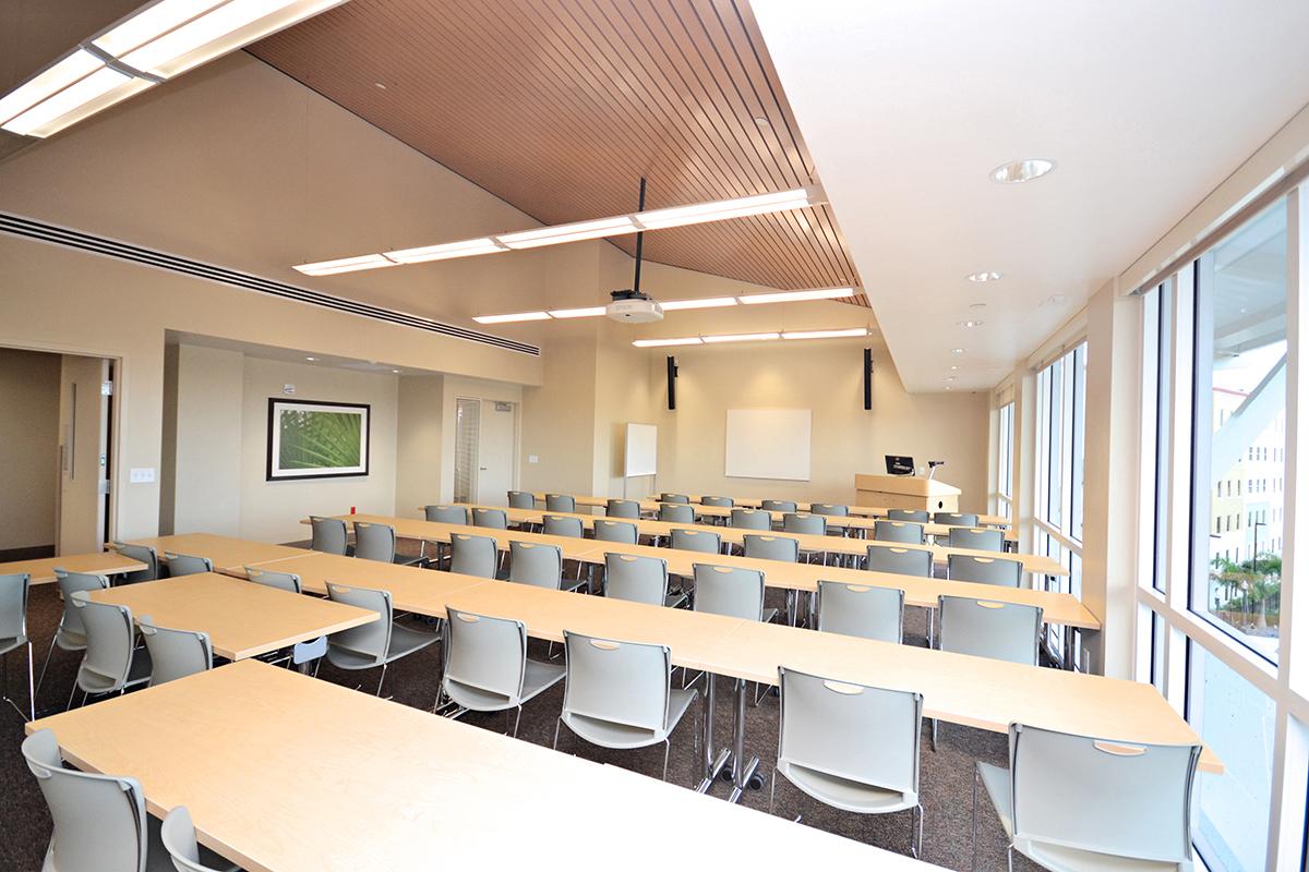 FGCU Eagle Hall Classroom