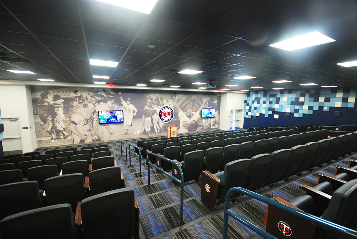 Twins Player Development Academy Player Auditorium