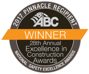 A culture of safety: 2017 Pinnacle Recipient Badge