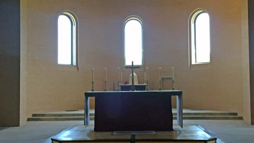 Our Lady of the Annunciation of Clear Creek Abbey | Apse/Chevet Phase MMXVI