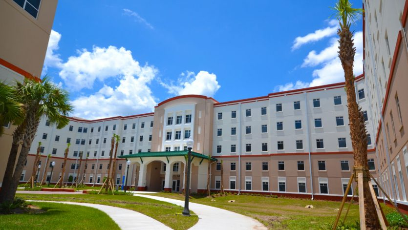 Florida Gulf Coast University South Housing Dormitory 3 - Palmetto Hall