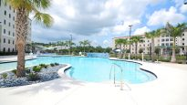 Florida Gulf Coast University South Village Housing Pool Complex