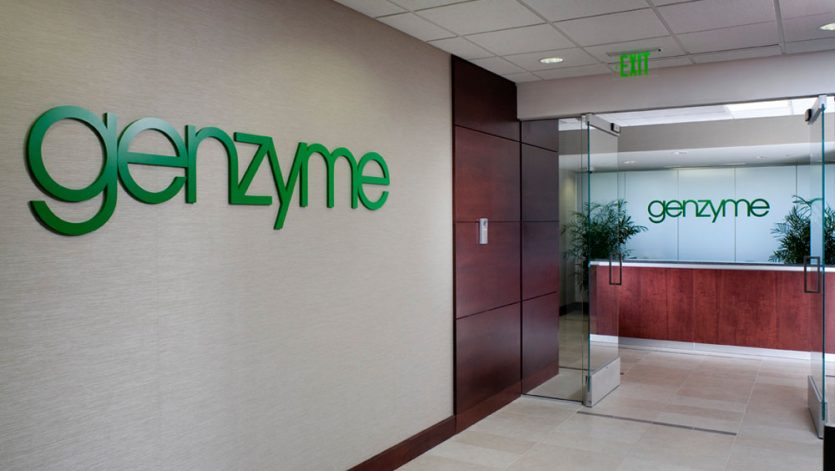 Genzyme Interior Lab & Office Interior Fit Out