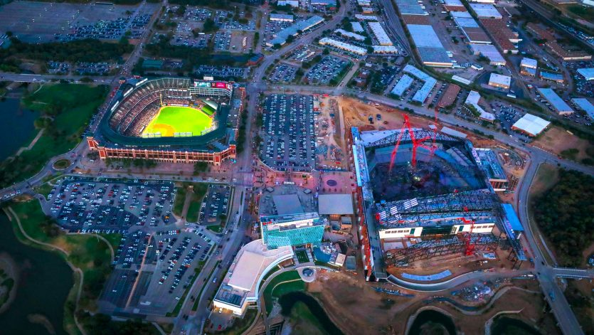 Glove Life Field Home of the Texas Rangers Photo