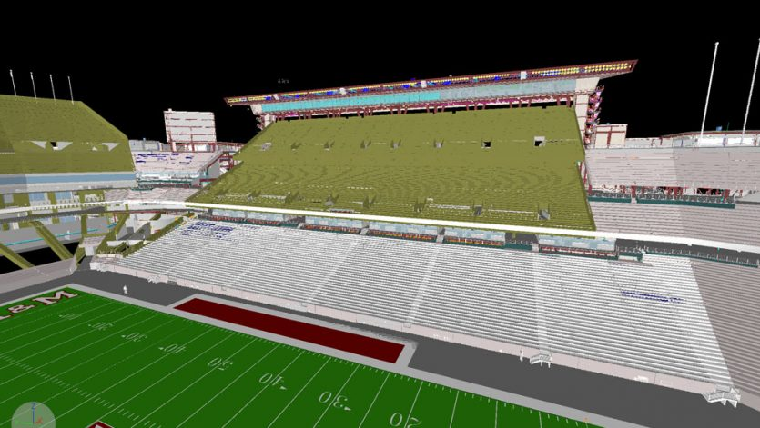 Kyle Field Stadium Redevelopment BIM Image