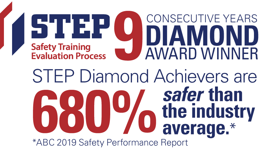 9 years as a STEP Diamond Recipient