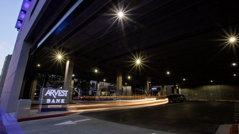 Arvest Bank Parking Garage