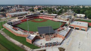 OSU Baseball Final Drone Image