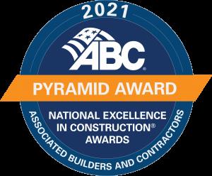 2021 ABC National Safety Pyramid Award Seal