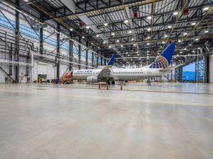 United Airlines Maintenance Hangar X - IAH - Houston, TX 041620