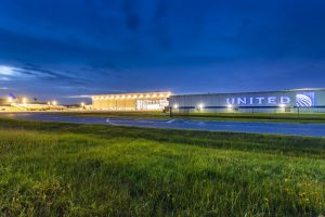 United Airlines Maintenance Hangar X - IAH - Houston, TX 041720