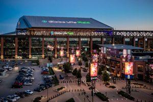 Texas Rangers' Globe Life Field Wins National Build America Award