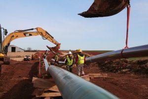 Manhattan Pipeline Guthrie Oklahoma 6
