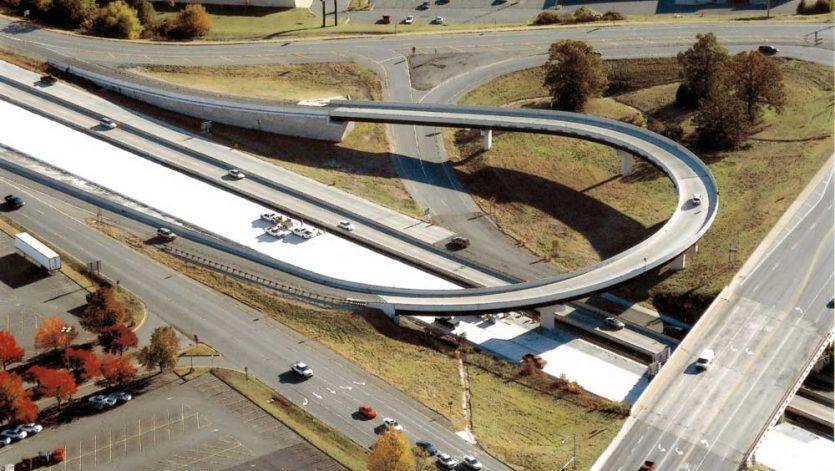 McCain Boulevard Turn-Around Bridge Overpass