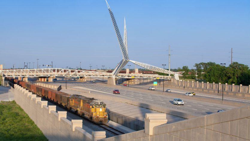 SkyDance Pedestrian Bridge