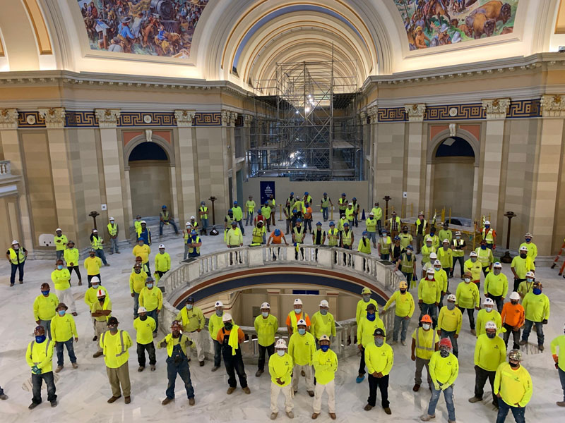 Safety Standdown at the OKC Capitol