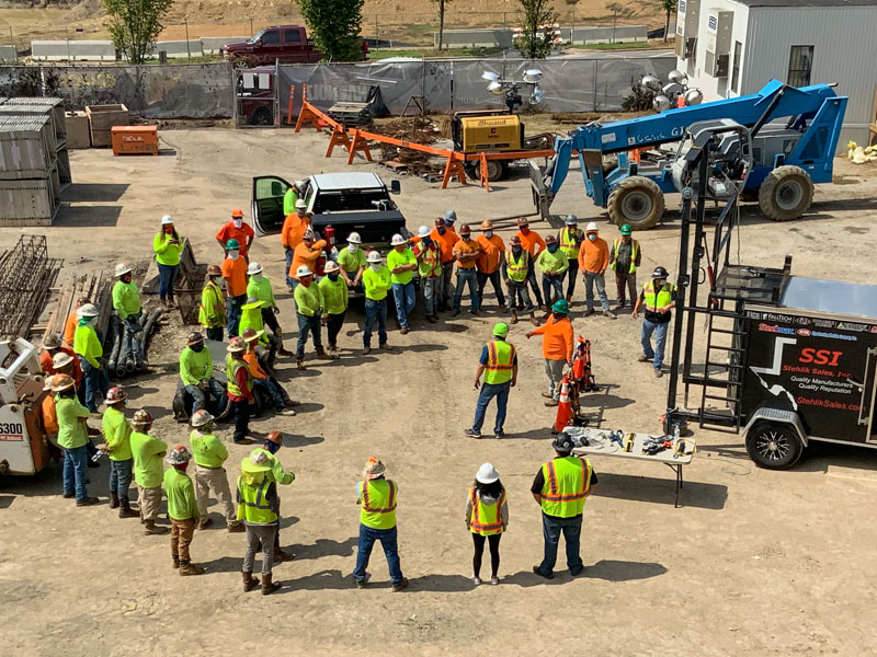 Safety Standdown at MRB OKC Office.